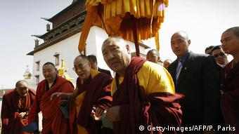 Mongolei Besuch des Dalai Lamas in Ulan Bator (Getty-Images/AFP/P. Parks)