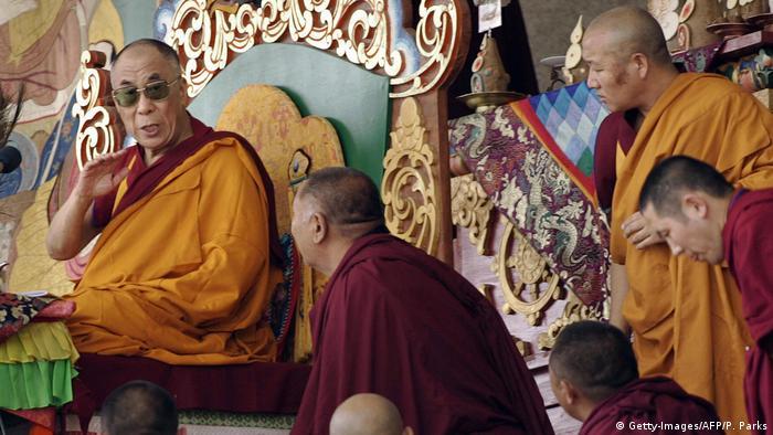 Mongolei Besuch des Dalai Lamas in Ulan Bator (Getty-Images/AFP/P. Parks)