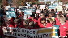 Demo in Washington DC