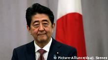 Japan Premierminister Shinzo Abe in New York