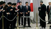 USA Japan Abe Trump Treffen
