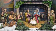 +++ Bildergalerie Das bringt der Dezember +++ Weihnachtskrippe BLWX090253 Copyright: blickwinkel/McPhoto/Alfred Schauhuber
