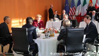 Deutschland US-Präsident Obama in Berlin