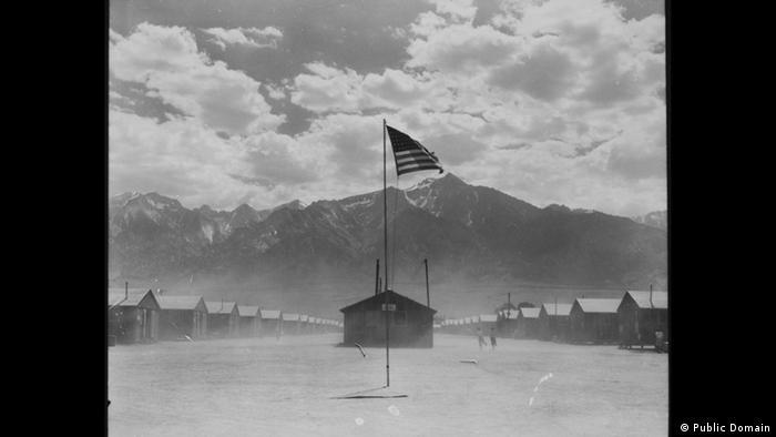 Zweiter Weltkrieg Internierung japanischstämmiger Amerikaner San Pedro (Public Domain)