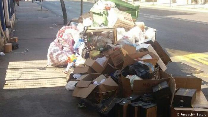 Abfall und Recycling in Chile (Fundación Basura)