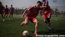 Nordkorea Fußballakademie