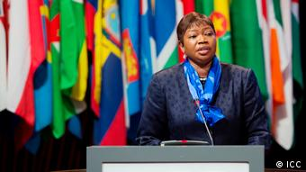 Fatou Bensouda Chefanklägerin am ICC (ICC)