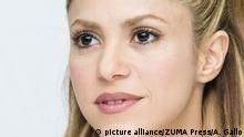 Feb. 17, 2016*** Feb. 17, 2016 - Hollywood, California - Portraits of Shakira during during an interview session in Hollywood for her latest movie Zootopia, where she sing ''Try Everything |