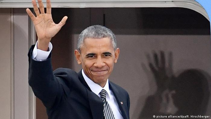 Deutschland Obama verlässt Berlin
