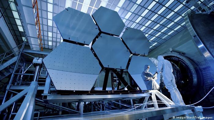 Kryogenik James Webb Space Telescope array (imago/StockTrek Images)