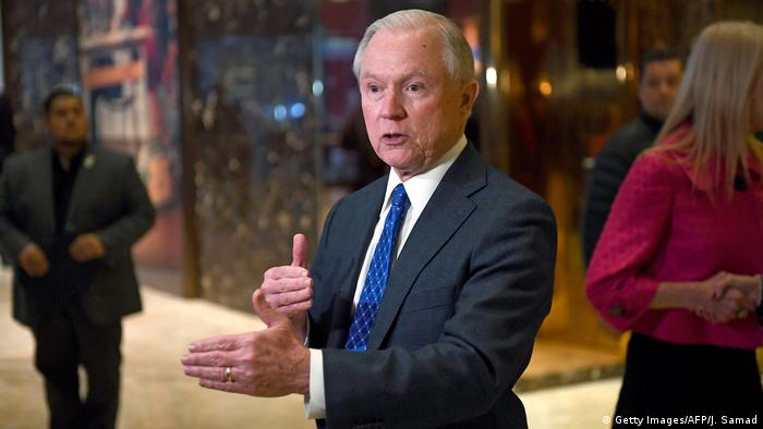 USA Jeff Sessions (Getty Images/AFP/J. Samad)