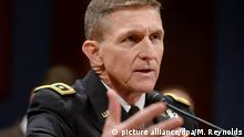 USA General Michael Flynn (picture alliance/dpa/M. Reynolds)