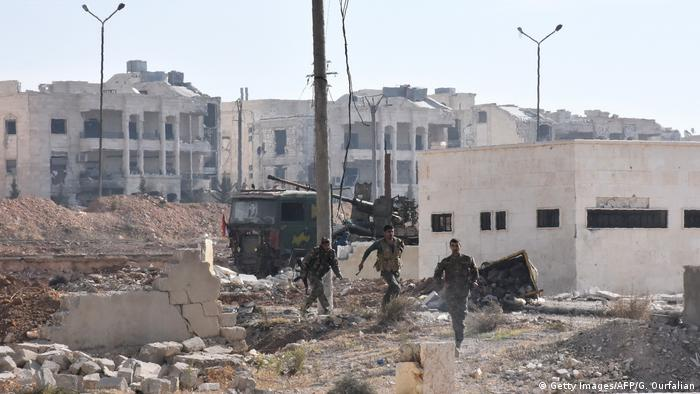 Syrien Zerstörung in Alepppo (Getty Images/AFP/G. Ourfalian)