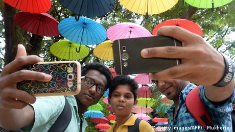 Indien Selfie