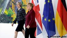 Deutschland Angela Merkel und Theresa May in Berlin