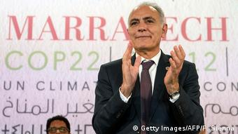 UN Klimakonferenz COP22 in Marokko Salaheddine Mezouar (Getty Images/AFP/F. Sienna)
