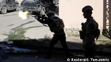 Irak Mossul Irakische Truppen Kampf gegen den IS