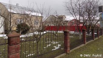 Der Grenzübergang liegt in der Nähe des Ortes Schegyni in der Region Lemberg (DW/V. Pryhid)
