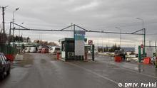 Grenzübergang an der ukrainisch-polnischen Grenze