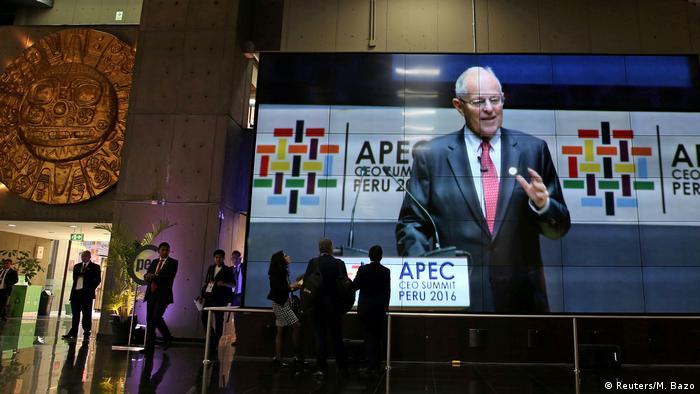 Lima APEC-Gipfel in Peru Pablo Kuczynski (Reuters/M. Bazo)