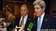 Lima APEC-Gipfel in Peru Lavrov und Kerry