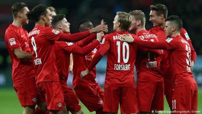 RB Leipzig neuer Spitzenreiter