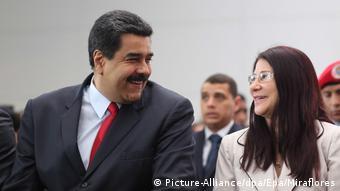 Venezuela Nicolas Maduro und Cilia Flores