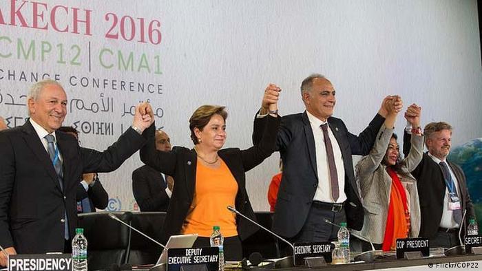 Marokko Klimakonferenz in Marraesch
