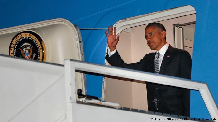 US-Präsident Barack Obama zu Besuch in Peru (Picture-Alliance/AP Photo/P. M. Monsivais)