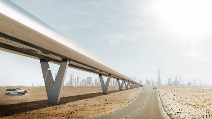 Hyperloop One Projekt (BIG)