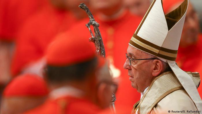 Ceremonia para la creación de nuevos cardenales en el Vaticano (Reuters/S. Rellandini)