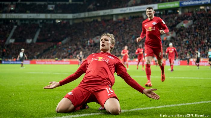 Bundesliga | Bayer 04 Leverkusen - RB Leipzig 2:3 (picture-alliance/ZB/T. Eisenhuth)