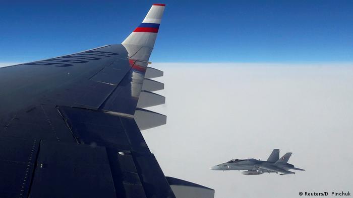 Крыло самолета Ил-96 (фото из архива)