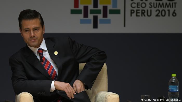 Peru APEC-Gipfel Enrique Pena Nieto (Getty Images/AFP/R. Buendia)
