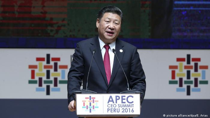 Peru APEC-Gipfel China Xi Jinping (picture alliance/dpa/E. Arias )