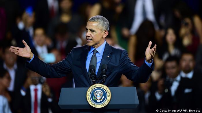 Peru APEC-Gipfel Barack Obama (Getty Images/AFP/M. Bernetti)