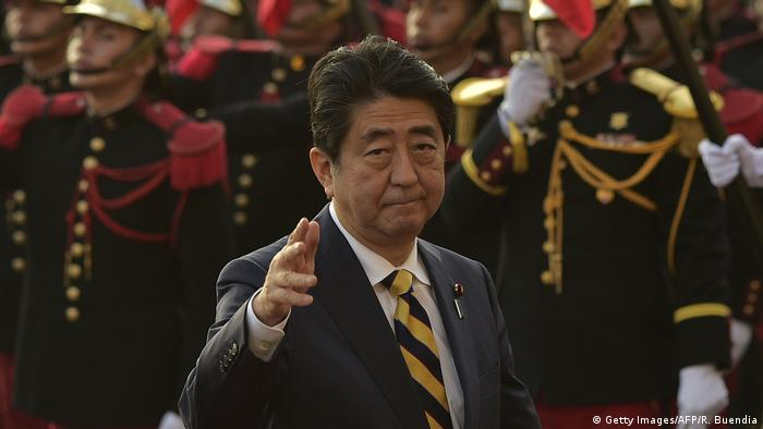 Peru APEC-Gipfel Shinzo Abe (Getty Images/AFP/R. Buendia)