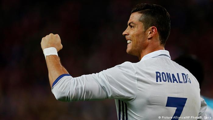 Real Madrid Cristiano Ronaldo jubelt