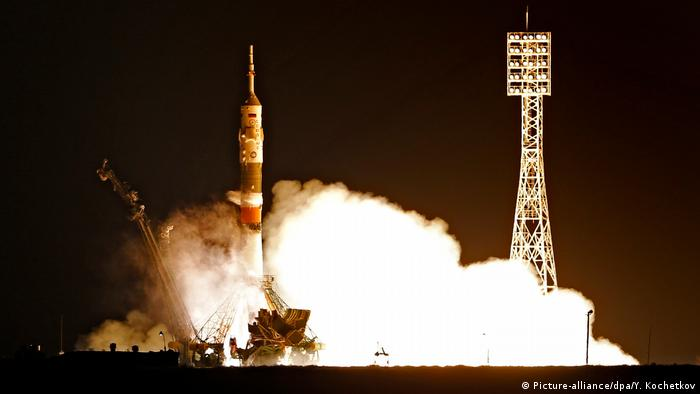 Expedition 50/51 zur Internationalen Raumstation (Picture-alliance/dpa/Y. Kochetkov)