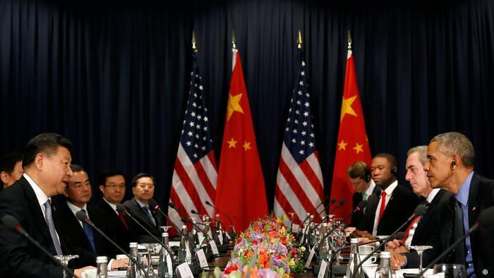 Peru Treffen Barack Obama und Xi Jinping in Lima ( Reuters/K. Lamarque)