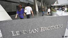 Japan USA Wirtschaft Lehman Brothers in Tokio
