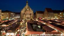 Deutschland Christkindlesmarkt Nürnberg 2015