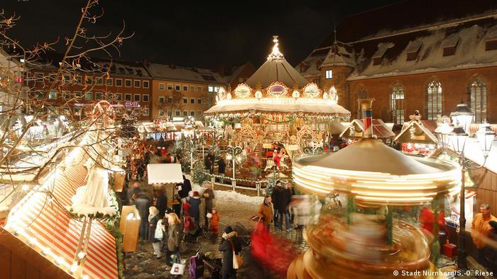 Deutschland Christkindlesmarkt Nürnberg (Stadt Nürnberg/S.-O. Riese)