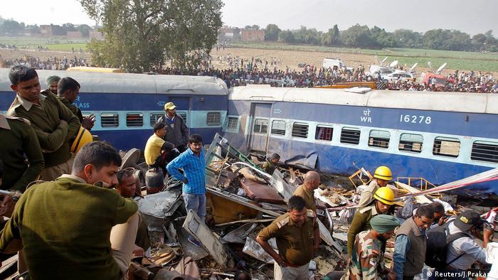 Indien Zugunglück