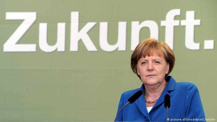 Angela Merkel (picture alliance/dpa/C.Rehder)
