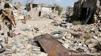 Jemen Zerstörung (Reuters/A.Mahyoub)