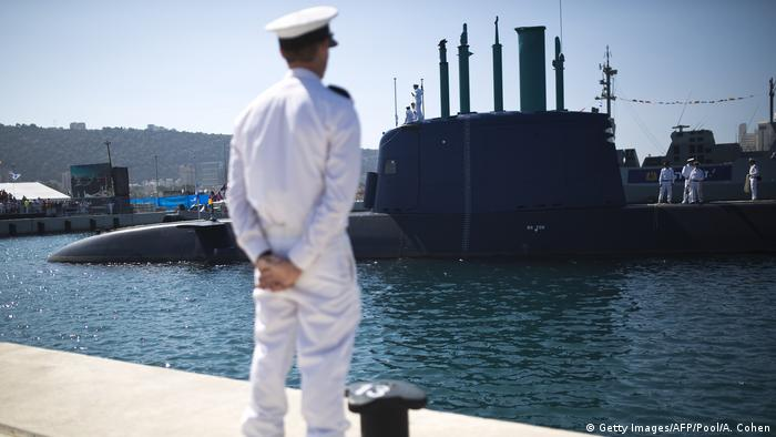 Deutschland Israel U-Boot Lieferung (Getty Images/AFP/Pool/A. Cohen)