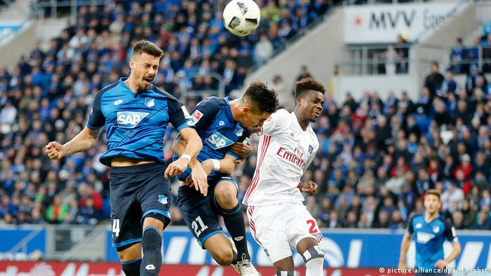 Bundesliga Hoffenheim vs HSV (picture-alliance/dpa/M.Probst)