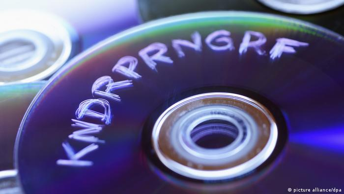 DVD with Kindrprngrf written on it.