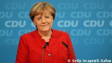 Angela Merkel kandidiert erneut